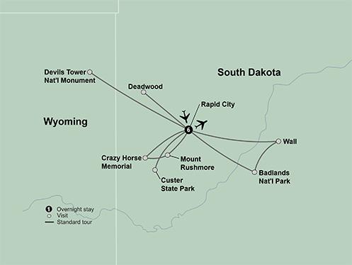 Spotlight on South Dakota (7 Days, Standard)