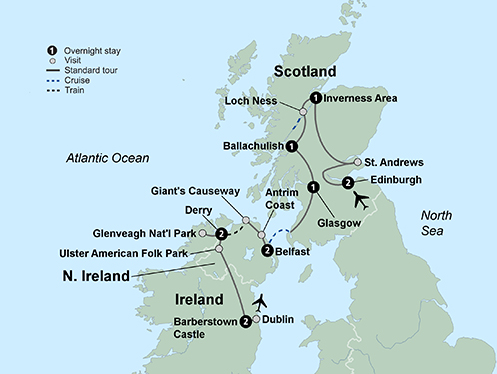 Ireland And Scotland Tours With Airfare