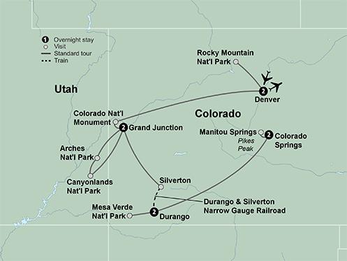 Colorado Rockies (9 Days, Standard)