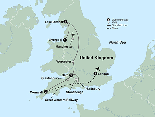 Englands Treasures (11 Days, Standard)