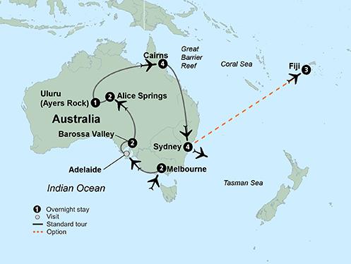 Exploring Australia (17 Days, Standard)