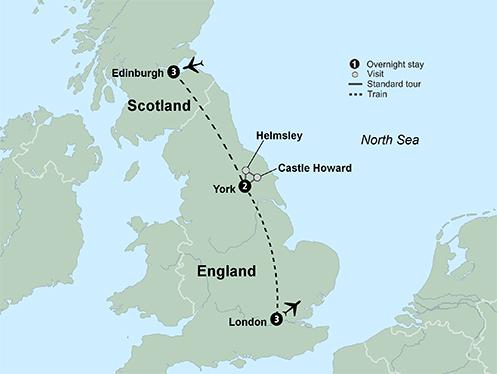 UK by Rail (9 Days, Standard)