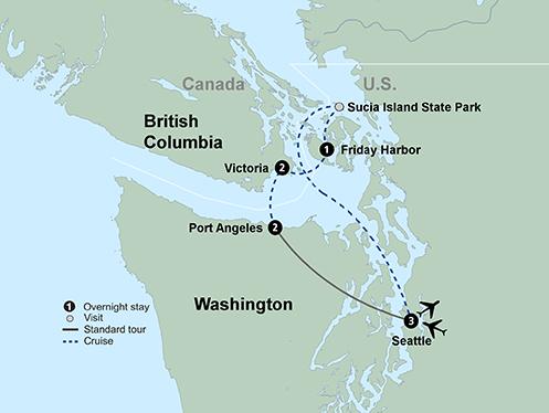 The Pacific Northwests Coastal Treasures (9 Days, Standard)