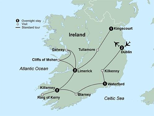 Shades of Ireland (12 Days, Alternative)