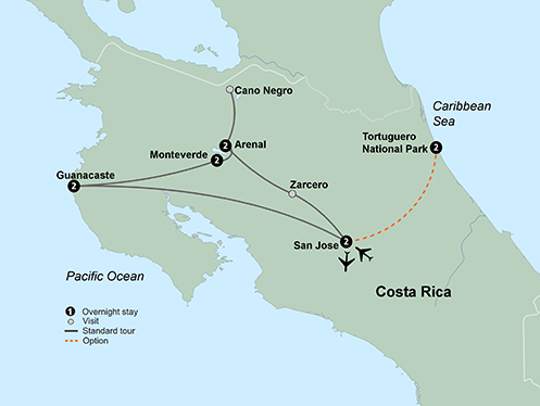 Costa Rica Tours Costa Rica Vacation Packages 2019 2020