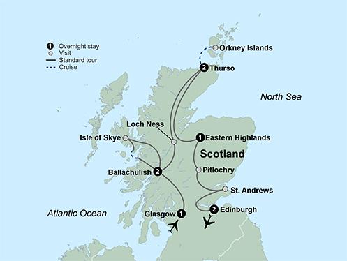 Discover Scotland (9 Days, Reverse)