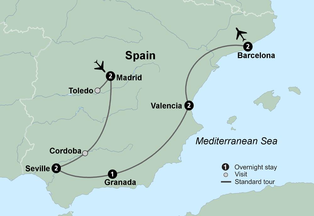 Spains Classics (13 Days, Alternative)