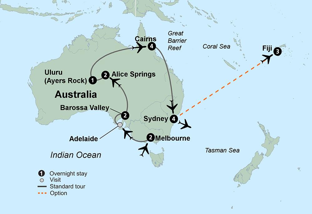 Exploring Australia (16 Days, Standard)
