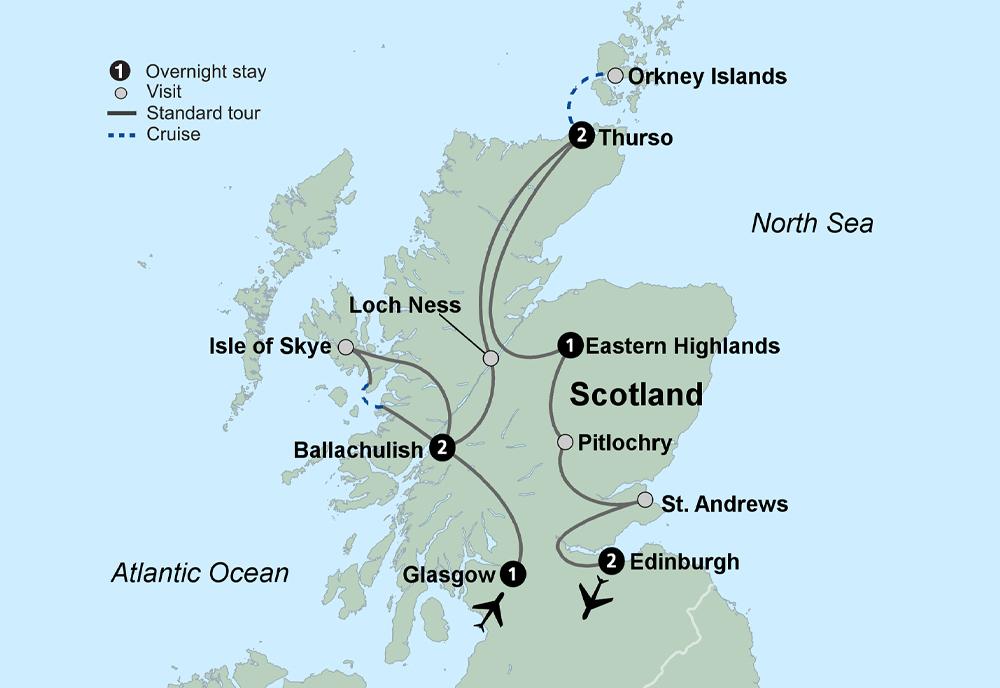 Discover Scotland (9 Days, Standard)