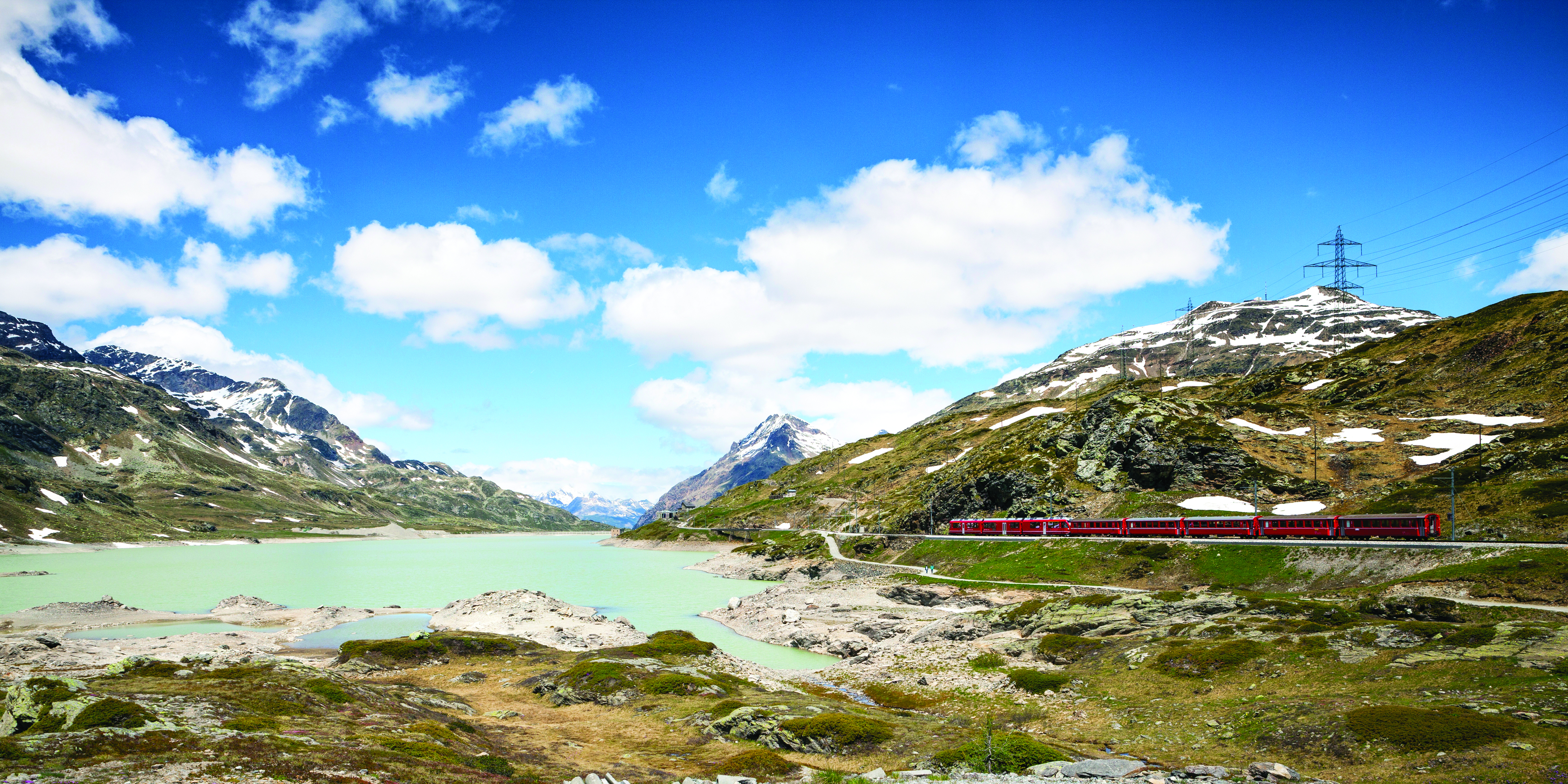 Alpine Lakes & Scenic Trains featuring a cruise on Lake Maggiore and scenic trains in Switzerland & Italy