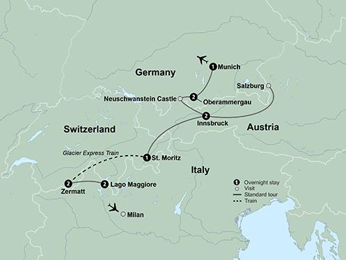 Alpine Explorer Oberammergau (12 Days, Standard)